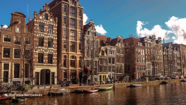 Guide tour in Amsterdam, the Netherlands. Monika Doroszkiewicz. Attractions of Amsterdam.
